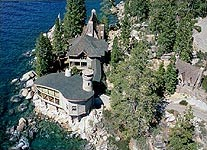 thunderbird lodge from the sky